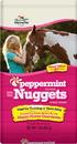 Manna Pro Bite-Size Nuggets Horse Treats - Peppermint - 1 Pound
