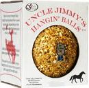 J.C. Quarter Horse Uncle Jimmy S Hangin  Ball Treats For Horses - Molasses - 3 Pound