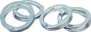 Coburn Plated Ring Fasteners - 10 Pack
