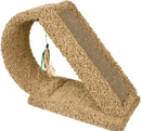 Ware Kitty Scratch Tunnel With Corrugate - Brown - 9.5 X23 X18.5