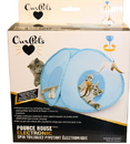 Ourpets Opb Pounce House Electronic Spin Toy