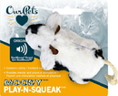 Ourpets Play-N-Squeak Moody Cow