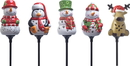 Coleman Cable Holiday Ceramic Stake Lights Floor Display