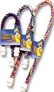 Booda Comfy Perch Large Cable Perch For Birds - Multi Colored - 30.5X2X1.5 Inch