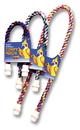 Booda Comfy Perch Large Cable Perch For Birds - Multi Colored - 38X1.5X1.5 Inch