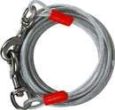 Booda Cider Mill Vinyl Dog Tieout - Clear - 20 Feet