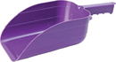 Miller Little Giant Plastic Utility Scoop - Purple - 5 Pint