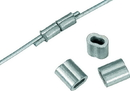 Dare Crimp Sleeve For Wire - Silver - 100 Pack