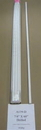 Geotek Sunguard Fiberglass Predrilled Fence Post - White - 7/8 X 5 Foot