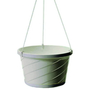 Myers Euro Hanging Basket - White - 10 Inch