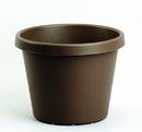 Myers Industries L&Ggroup Classic Pot - Chocolate - 6 Inch