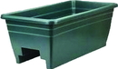 Myers Deck Rail Box Planter - Hunter Green - 24 Inch