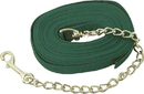 Imported Horse &Supply Lunge Line With Chain - Green - 20 Feet
