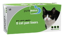 Van Ness Pure-Ness Cat Pan Liners - 22X16 /10 Count