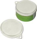 Van Ness Pet Food Can Cover - White - 3.9X3.5X.5Inch