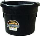 Miller Little Giant Advanced Flat Back Bucket - Black - 18 Quart