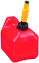 Midwest Can Spill Proof Poly Gas Can - Red - 1 Gallon
