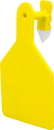 Z Tags North America Z Tags Blank Ear Tags - Yellow - 25 Count/Calf