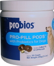 Vets Plus Probios Pro-Pill Pods With Probiotics For Large Dogs