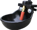 Smb Super Flow Cast Iron Water Bowl For Cattle - Black - 22 Liters/Min