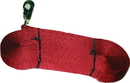 Hamilton Single Thick Lunge Line With Swivel - Red - 26 Foot