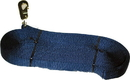 Hamilton Single Thick Lunge Line With Swivel - Navy - 26 Foot