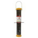 Droll Yankees Birdlovers Bottoms Up Finch Feeder - Yellow - 15 Inch