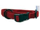 Hamilton Adjustable Dog Collar - Red - 5/8  X 12-18