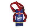 Hamilton Adjustable Dog Harness - Red - 5/8  X 12-20