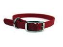 Hamilton Single Thick Nylon Dog Collar - Red - 3/8  X 12