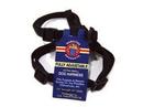 Hamilton Adjustable Dog Harness - Black - 3/8  X 10-16