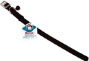 Hamilton Braided Safety Cat Collar - Black - 10  X 3/8