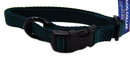 Hamilton Adjustable Dog Collar - Hunter Green - 5/8  X 12-18