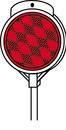 Hy-Ko Plastic Driveway Marker - Red - 48 Inch