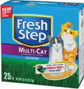 Clorox Fresh Step Multicat Clumping Cat Litter - Scented - 20 Pound