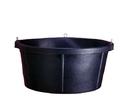 Fortex Round Stall Feeder - Black - 6.5 Gallon