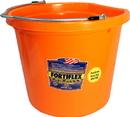 Fortex Flat Back Bucket - Orange - 20 Quart