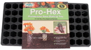 Ferry-Morse Pro-Hex Tray Professional Seed Starting Tray - Black - 72 Cell