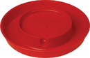 Miller Little Giant Screw-On Poultry Waterer Base - Red - 1 Gallon
