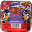 C & S Berry Suet Cake For Wild Birds - 11.75 Ounce