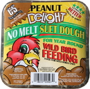 C & S No Melt Suet - Peanut Delight - 11.75 Ounce