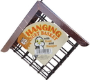 C & S Hanging Suet Basket With Roof - Black/Copper - 2X8X7 Inch