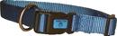 Hamilton Adjustable Dog Collar - Ocean - 3/4  X 16-22
