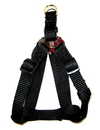 Hamilton Adjustable Easy On Harness - Black - 1  X 30-40