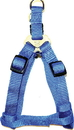 Hamilton Adjustable Easy On Harness - Blue - 1  X 30-40