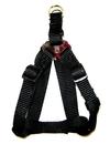Hamilton Adjustable Easy On Harness - Black - 3/4  X 20-30