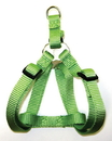 Hamilton Adjustable Easy On Harness - Lime Green - 5/8  X 12-20