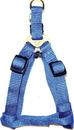 Hamilton Adjustable Easy On Harness - Blue - 3/8  X 10-16