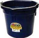 Miller Little Giant Plastic Flat Back Bucket - Navy - 20 Quart