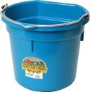 Miller Little Giant Plastic Flat Back Bucket - Teal - 20 Quart